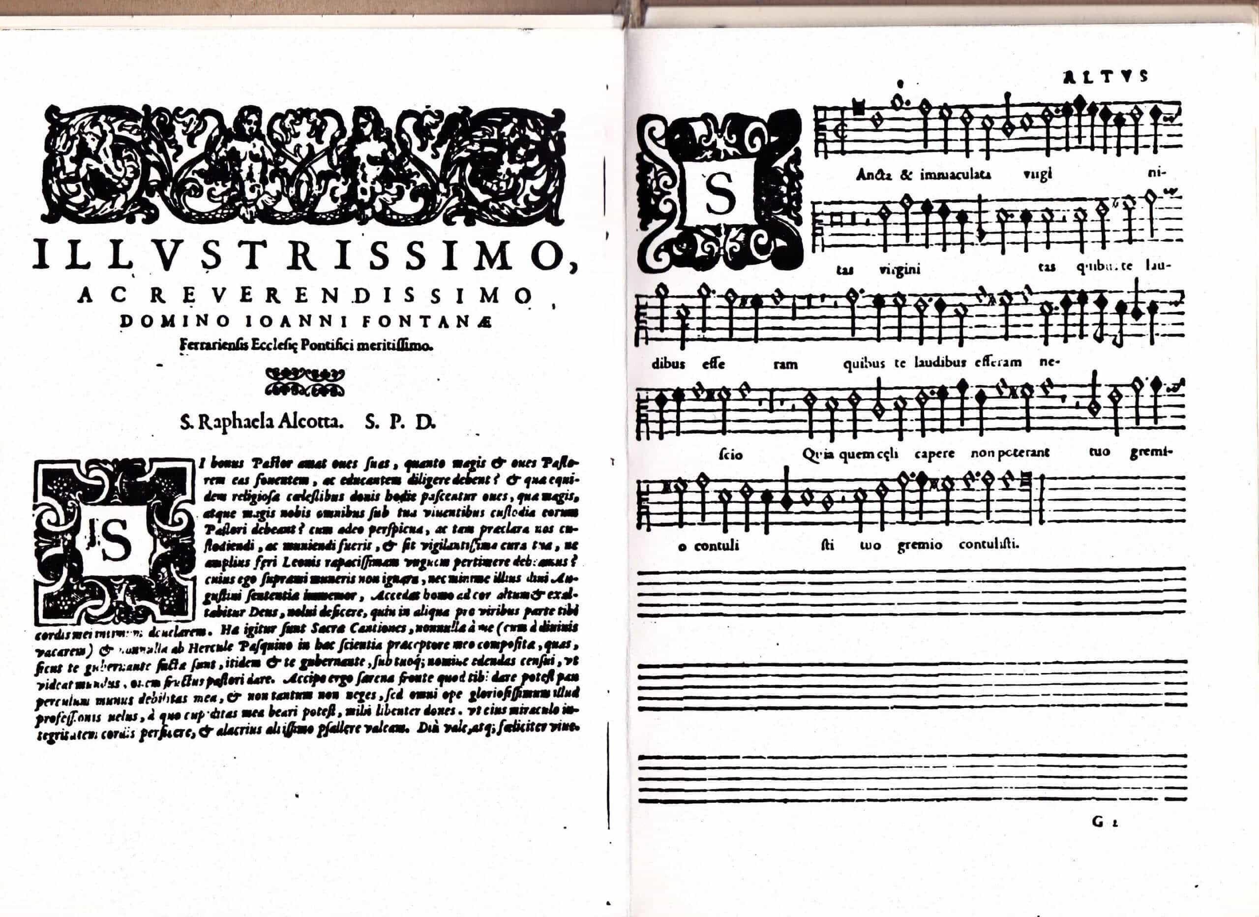 Raphaela Aleotti. Sacrae Cantiones quinque, septem, octo, & decem vocibus decantandae