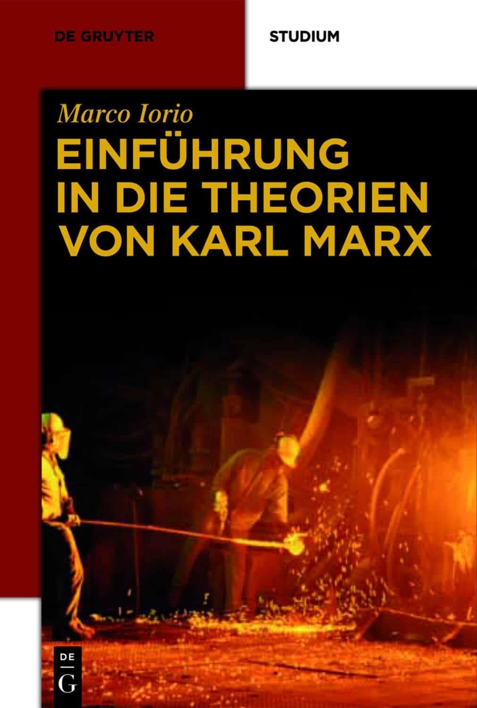 Marco Iorio Marx Einführung Buchcover