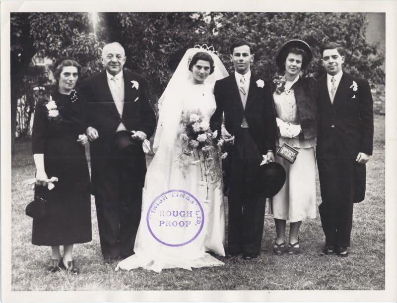 Wedding of Robert and Renate Weil