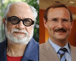 Homi K. Bhabha and Klaus Stierstorfer
