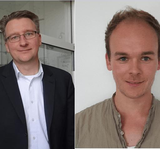 Sebastian Riedel and Patrick Pröhm
