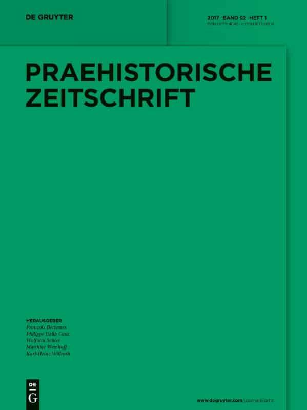 Cover Prähistorische Zeitschrift