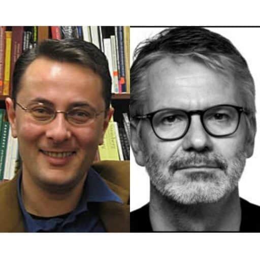 Michael Eskin and Durs Grünbein