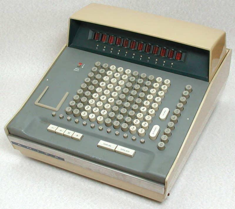 Tischrechner Anita